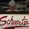 Schwartz's, home of Montreal Smoked Meat. It was good but I found it a tiny bit dry.