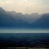 French alps from Montruex