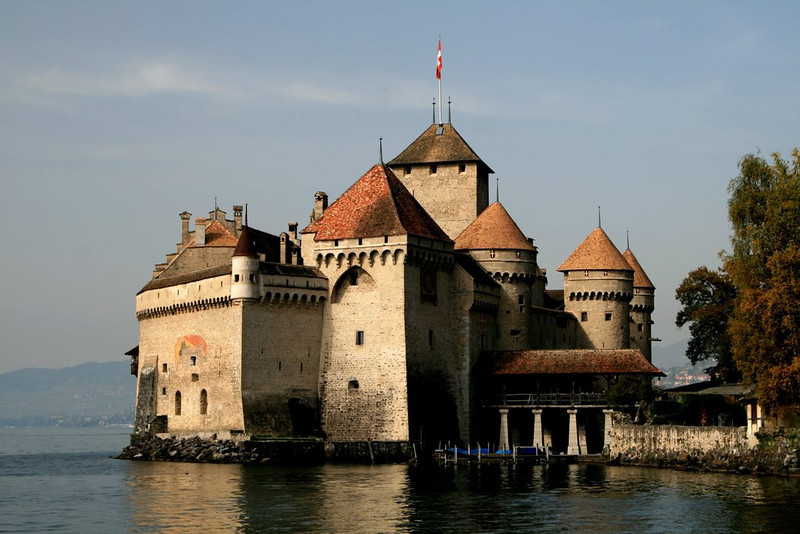 Chateau Chillon, Switzerland