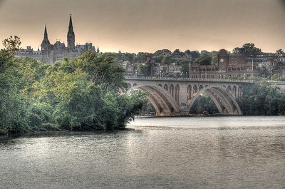 Key Bridge and Georgetown