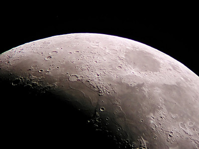 Image taken by Gene Kulakowski of Mingo Creek Observatory. 10 inch f-12 Refractor. Nikon 990