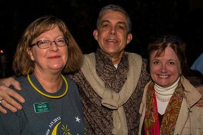 Cathie Mayne, Wayne & Liz Laney