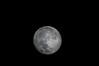 Super moon, 11/14/2016 - 1000mm mirror telescope, photo through the eyepiece