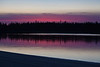 Sunset from sandbar in the Moose River 2011 November 4th