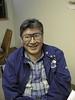 Alex Spence April 16, 1998. Keewaytinok Native Legal Services Moose Factory office.