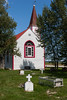 One end of St. Thomas Anglican Church in Moose Factory 2006 August 5th.