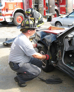 Lt. Moose during a vehicle rescue course in 2007. Photo from Erik Hirner