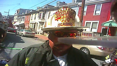 Chief Wentzel directing fire operations on South 10th Street in 2011. Thanks to Rick Lombardo of Mount Penn Fire for the clip.