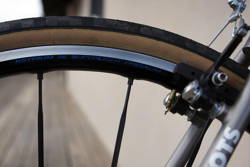 Ksyrium wheels