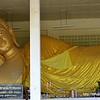 Giant reclining Buddha at วัดบุษยะบรรพต วัดเขาต้นงิ้ว temple in Hua Hin, Thailand in August 2017