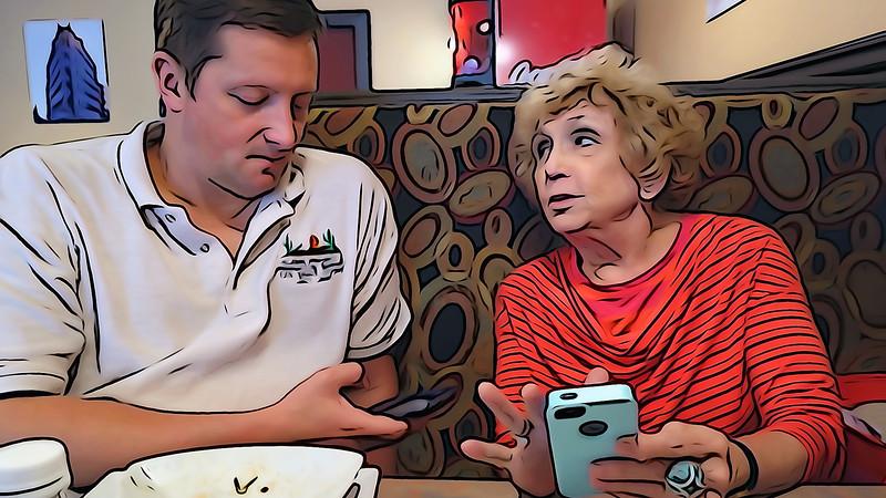 Rex & Anita Talk Cell