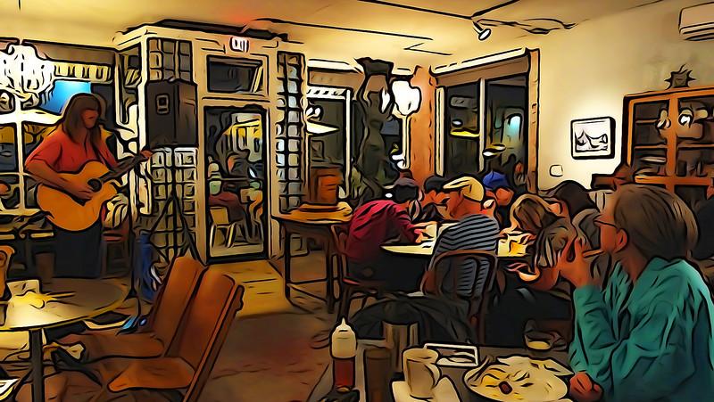 Karl Werne @ Cafe Stellas