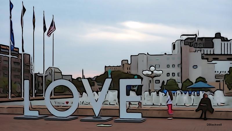 LOVE is back in downtown Norfolk!