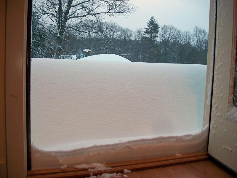 Oh boy!  More snow!