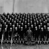 From an e-mail from Doreen Weber Lester who e-mailed a copy of her father's Graduation Photo of Company 4729 - April 1947 USNTC BAINBRIDGE. Anyone from this company are welcome to make any identifications of those pictured.<br />  <br /> Greetings!<br />  <br /> I have attached a scan of my Dad's photo from 1947 and you have my permission to use it on your website. The photograph itself is in rough shape, it is yellowed, edges are uneven and gloss finish has cracks, but I would be happy to donate it to the Museum, as–is, if they would like to have it. Please have someone contact me with an address that I can mail it to.<br />  <br /> I found this photograph in a box of my Dad's things after both of my parents passed away, so I am not sure which man is my Dad, but I believe he is the one that is directly to the right of the officer as you look at the photo.<br />  <br /> His name was Fred H. Weber and he was originally from the New York City area. He served from 1947 to 1953. He was UDT and his ship was the USS Mt McKinley (AGC 7). <br /> <br /> Regards,<br />  <br /> Doreen Weber Lester<br />  Gilbert, Arizona