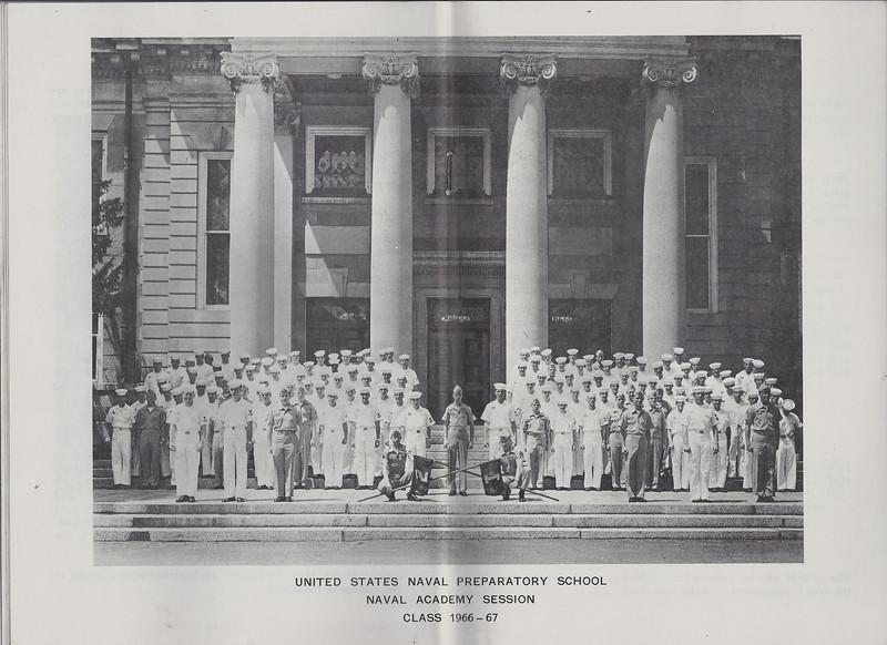 U.S. Naval Preparatory School - Naval Academy Session - Class 1966-1967