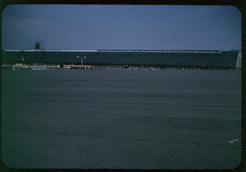 USNTC BAINBRIDGE - The Drill Hall looking across the Grinder - February 1953 - Fred Klohn fredb