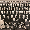 US Naval Recruits, Bainbridge, 1953 Company 54 Group Photograph<br />  <br /> Group photograph taken in January 1953 of Company 54, USNTC Bainbridge (Maryland), contributed by Marcia B. (Betts) Hoffman, daughter of navy recruit Frank C. Betts.