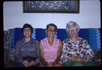 Gail Anderson Gardner, Dora Rea, Hazel Karner
