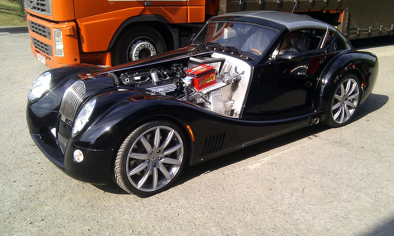 An 'Aero Supersports' almost ready for a road test.