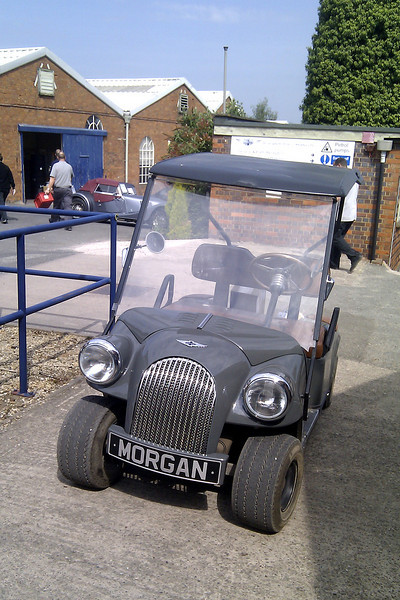 The smallest Morgan at the factory.