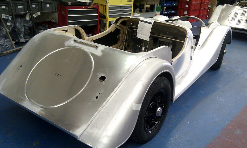 A Morgan 'Classic' takes shape.