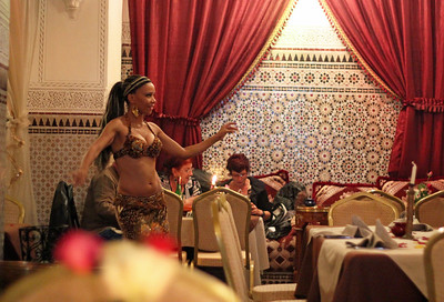 dining entertainment. marrakech