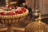 elaborate moroccan dinner spot. marrakech