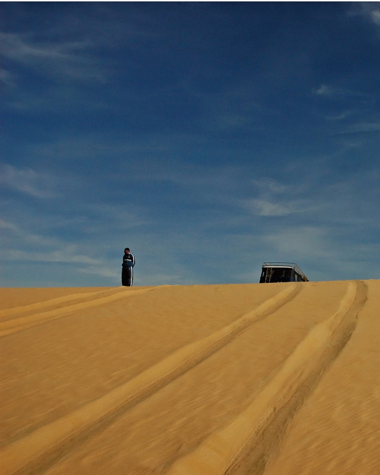 just sand and sky
