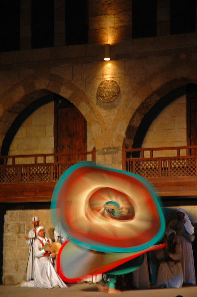 whirling dervish