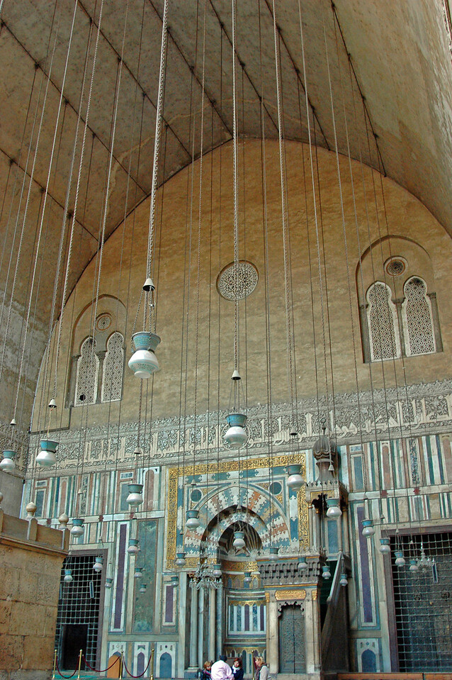 mihrab of sultan hassan mosque and madrasa