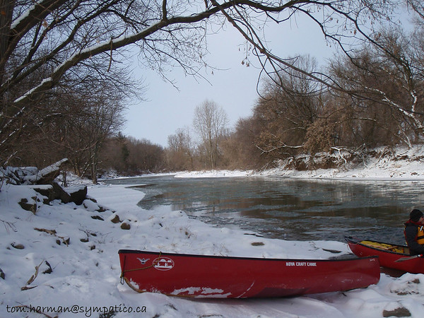 Nith River Canning to Paris 12-Feb-12<br /> Photo by Tom Harman