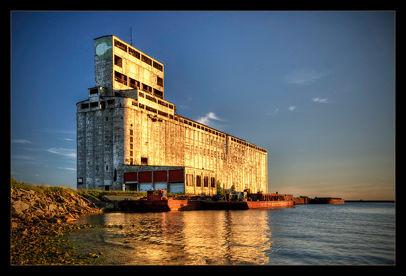 """Grain Elevator"" on the Buffalo waterfront"