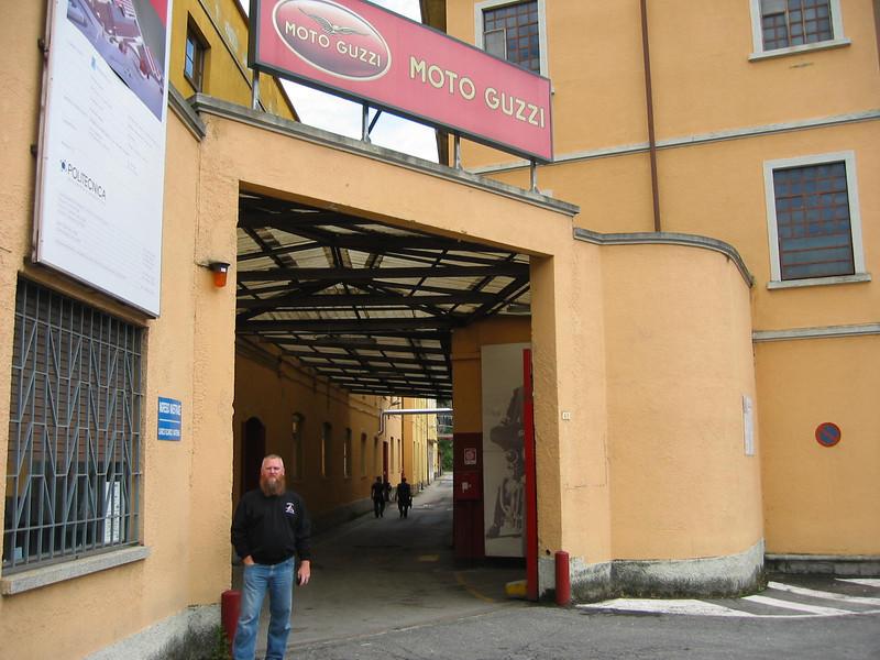 Moto Guzzi factory Mandello.