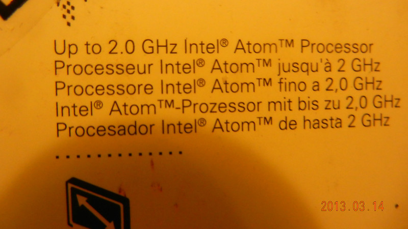 Atom 2G dual core with Hyperthread