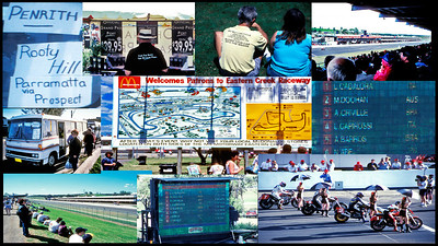 World Motorcycle Championship at Eastern Creek out of Sydney NSW.  We booked through World Events. They are the professionals.