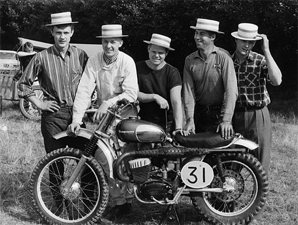 1966 Swedish Motocross des Nations Team