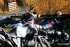 October 2009. Autumn ride together with Bernhard and his BMW R 80 G/S in Altenmarkt