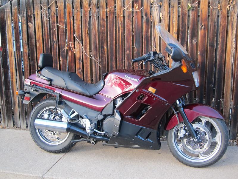 My 1995 Kawasaki Concours, 2013.