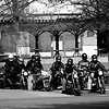 Group out for a ride, downtown Portland.