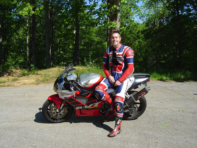 "Michael ""Mike"" Mefford on Honda RC 51<br /> Towsend, TN"