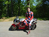 """Michael """"Mike"""" Mefford on Honda RC 51<br /> Towsend, TN"""