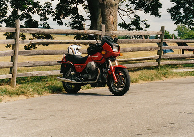 Moto Guzzi T-5 at Antietam Battlefield.