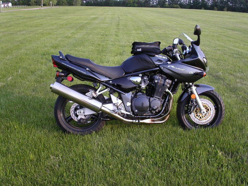 My brand new 2004 Suzuki Bandit 1200S
