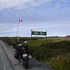 Arriving at L'Anse aux Meadows, Newfoundland.
