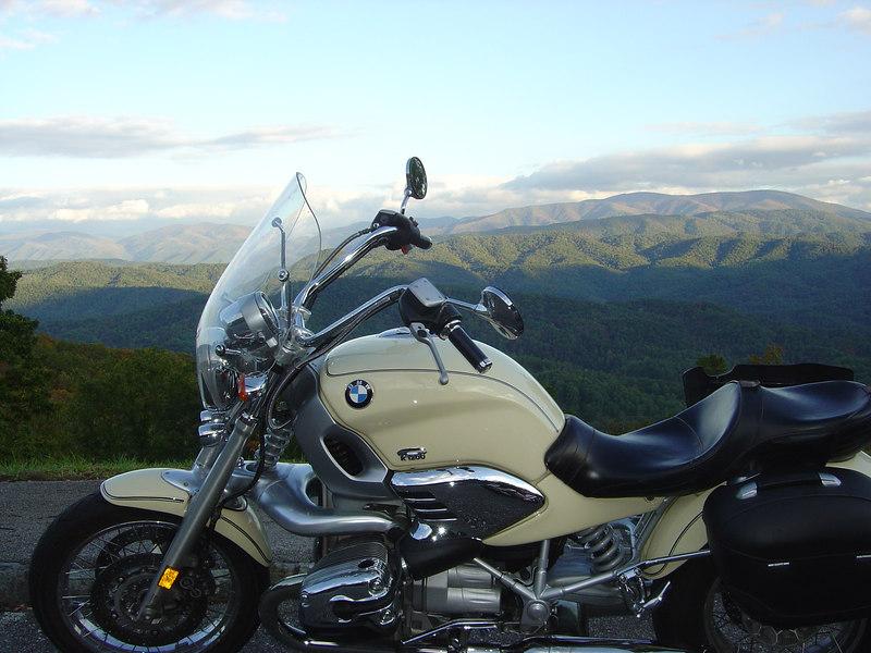 BMW R1200C, Foothills Parkway, Townsend, TN