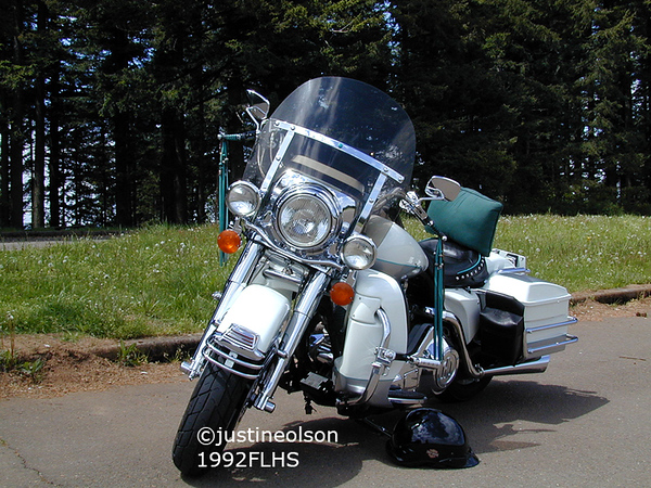 1992 FLHS. First Harley.