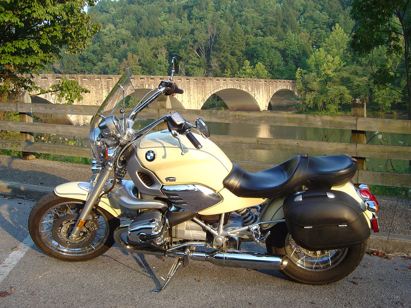 BMW R1200C at Cumberland Falls, Whitley County, KY