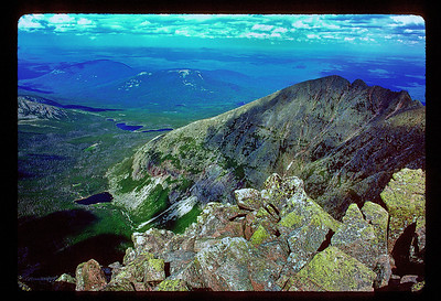 Mt. Katahdin Great Basin from Baxter Peak