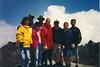 MOUNT ST HELENS GROUP SHOT<br /> L to R: Kristin, Jack, Joyce, Tim, Heidi, me, Robin, and Dan